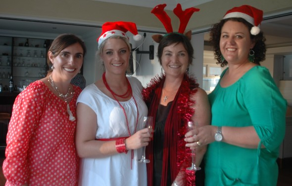 Festive fun at the cookie exchange in Maseru.