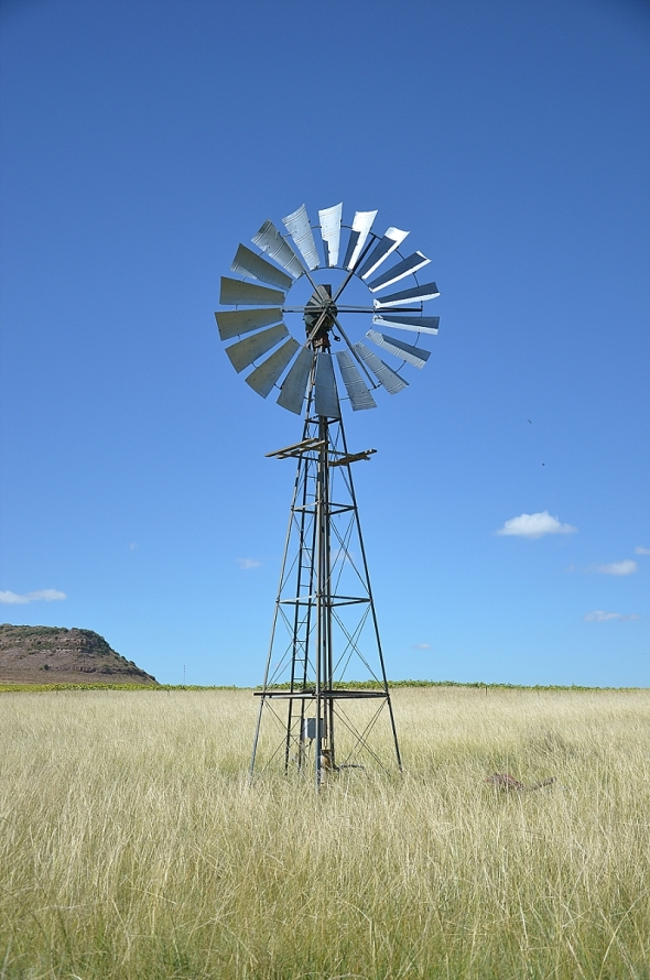 Renovated windmill.
